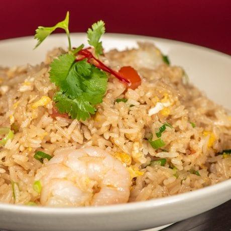 KHAO PAD (shrimps)