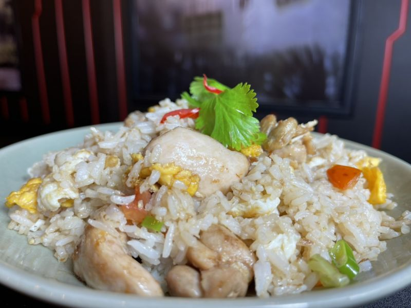 KHAO PAD (chicken)